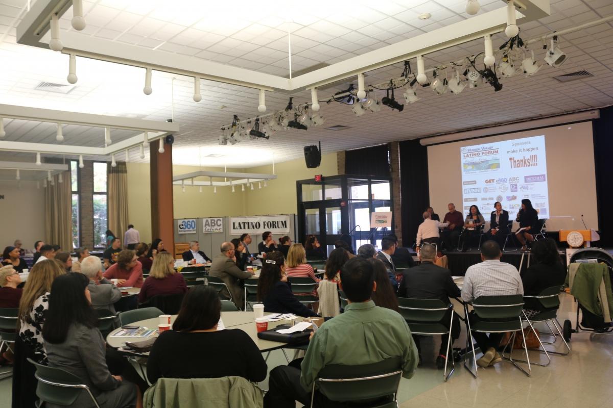 Latino Forum Participants at Dutchess Community College