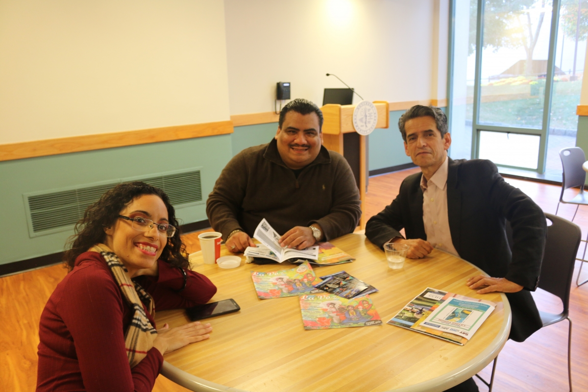 Latino Forum Participants