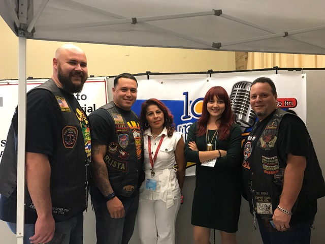 La Super Latina FM Radio with LAMA Association members