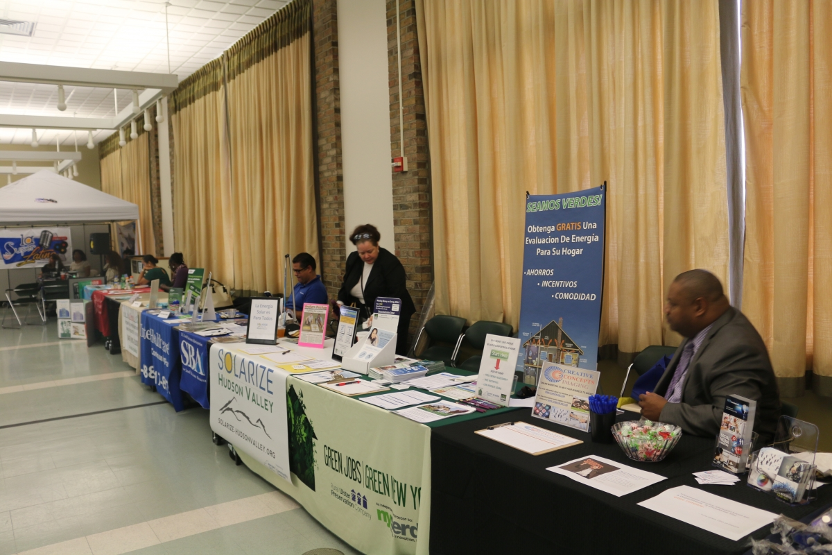 Exhibiting businesses and organizations